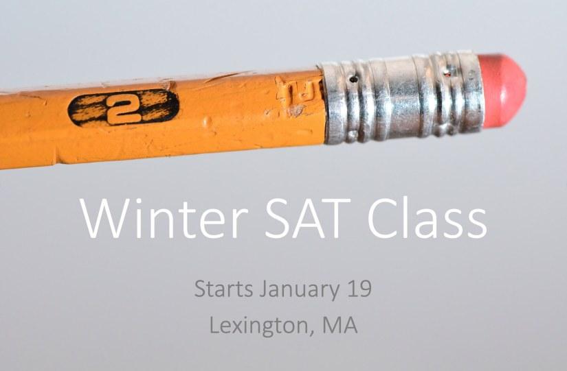 Winter SAT Class